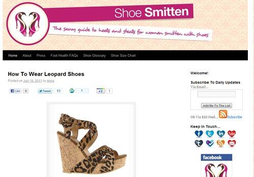 Shoe Smitten