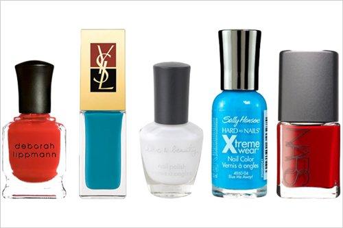 Red, White, & Blue Nail Polishes