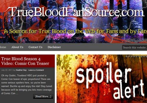 True Blood Fan Source