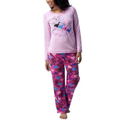 Disney Tinker Bell Angel Fleece Pant 2 Piece Pajama Set