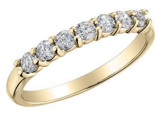 Diamond Anniversary and Wedding Band