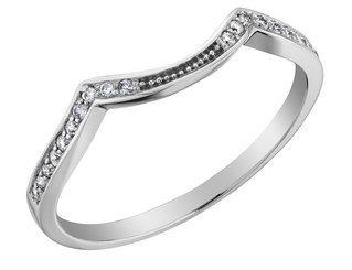 Diamond Wedding Band In 14k White Gold 10 Most Beautiful Wedding