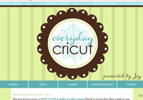 Everyday Cricut