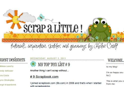 Scrap a Little