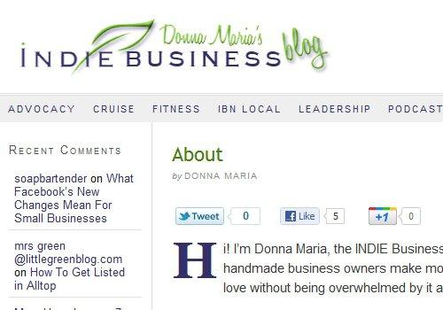 Indie Business Blog