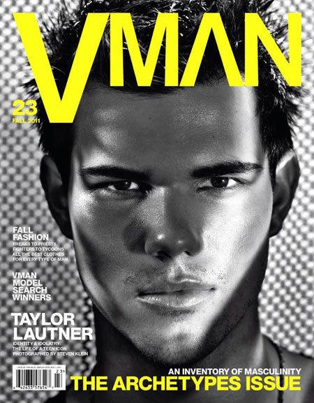 Taylor Lautner for VMan
