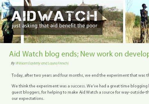 Aid Watch