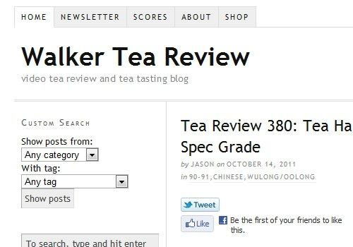 Walker Tea Review