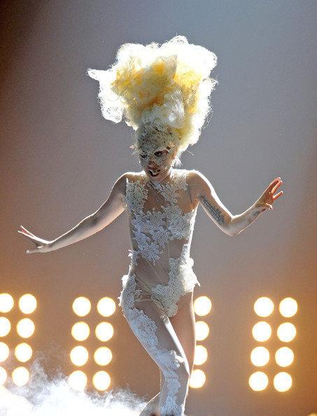 Gaga Mixes It up