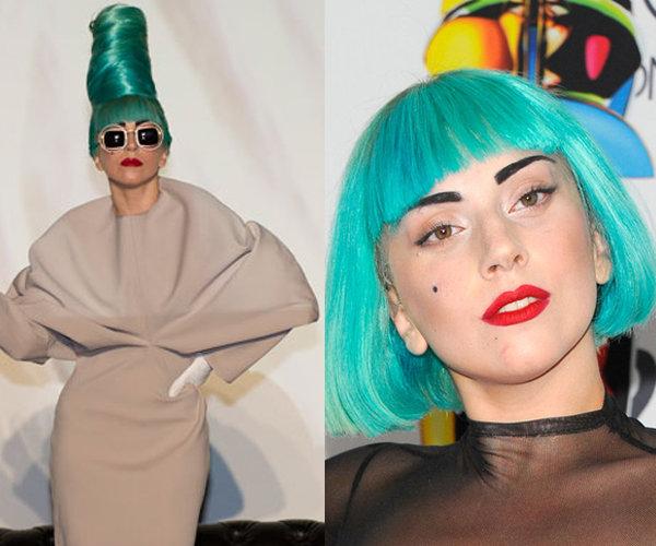 Gaga Goes Teal