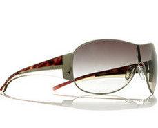 Prada Silver Rimmed Sunglasses