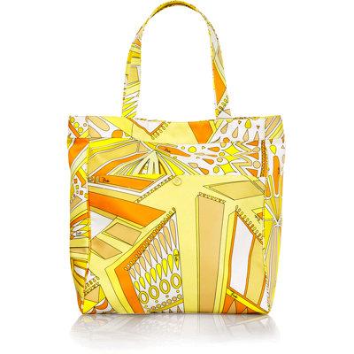 Emilio Pucci Sundial Canvas Beach Bag