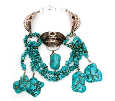Ana Lucia De Teresa Gold Ring with Diamonds**