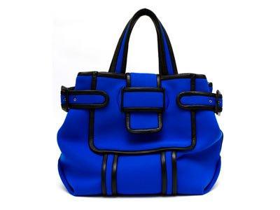 Pierre Hardy Neoprene & Napa Leather Tote Bag
