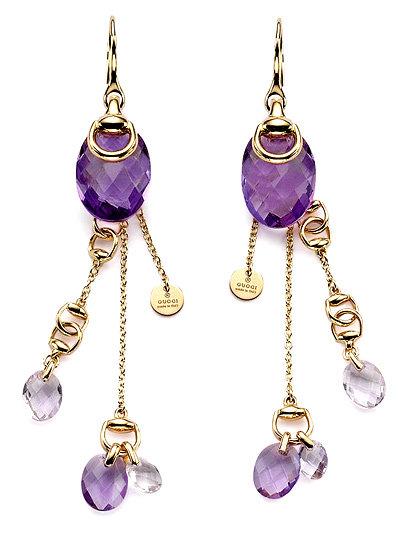 Gucci Candy Horsebit Earrings