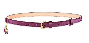 Louis Vuitton Pampilles Vernis Leather Belt