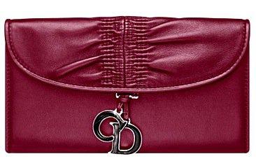 Dior Karenina Red Wallet