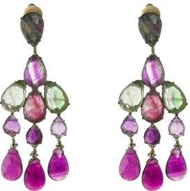 Fluorite Chandelier Earrings