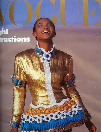 Naomi Campbell - December, 1987