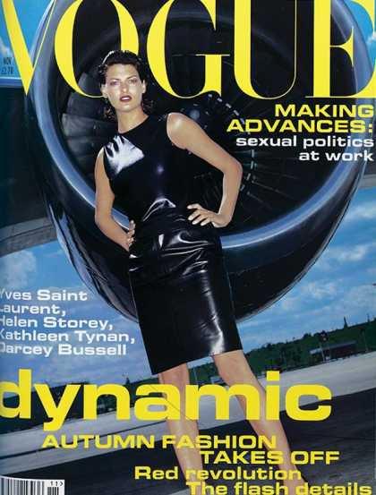 Linda Evangelista - November, 1994