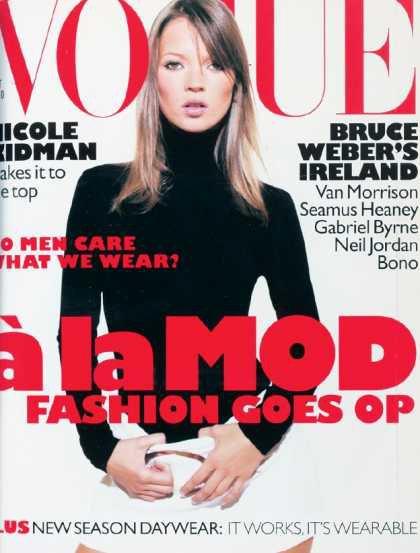 Kate Moss - October, 1995