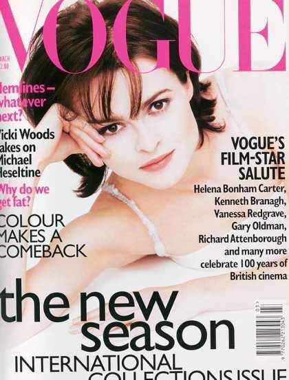 Helena Bonham-Carter - March, 1996