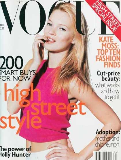 Kate Moss - April, 1996