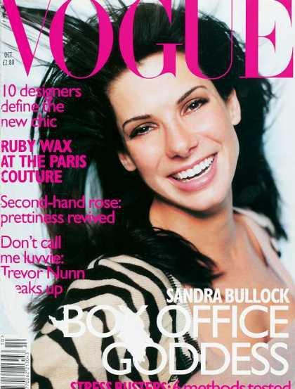 Sandra Bullock - October, 1996