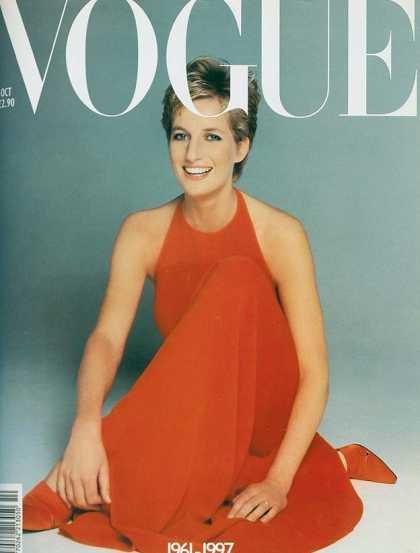 Diana, Princess of Wales - October, 1997
