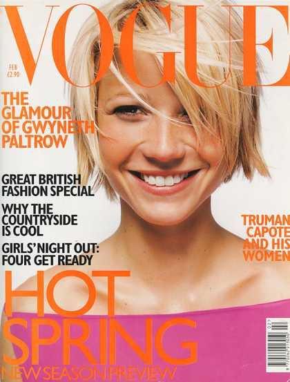 Gwyneth Paltrow - February, 1998