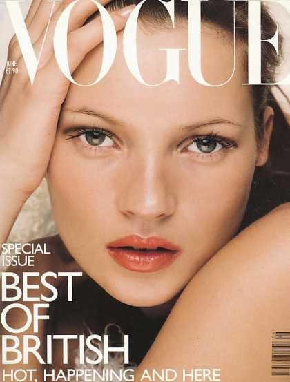 Kate Moss - June, 1998