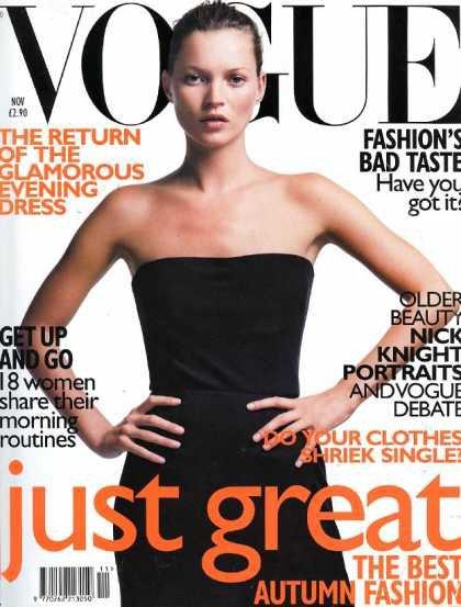Kate Moss - November, 1998
