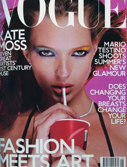 Kate Moss - May, 2000