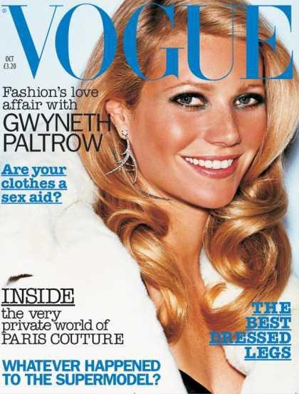 Gwyneth Paltrow - October, 2002