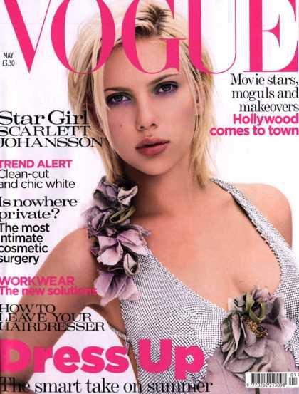 Scarlett Johansson - May, 2004