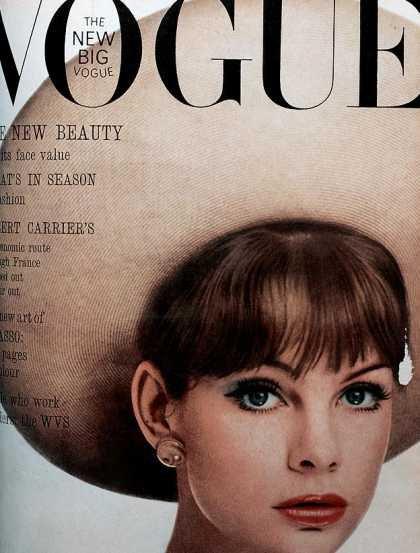 Jean Shrimpton - May, 1963