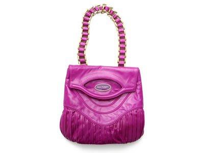 Zac Posen Pleated Napa Lily Bag
