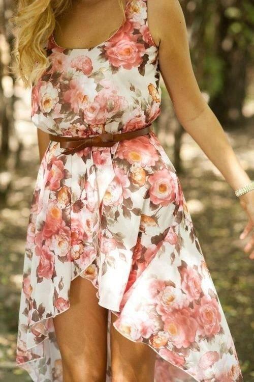 Fun Floral Dress
