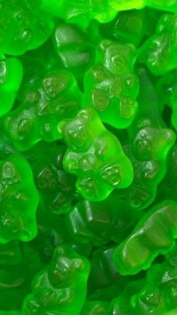 Green Gummy Bears