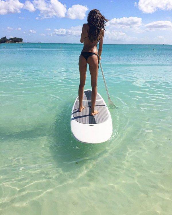 vacation, sea, surfboard, wind wave, sports,