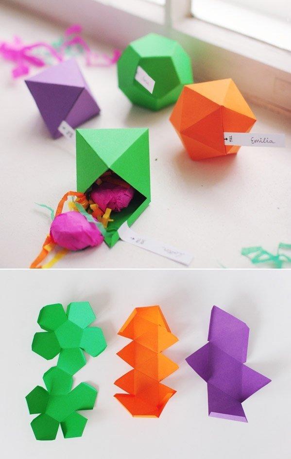 Geometric Trinket Boxes