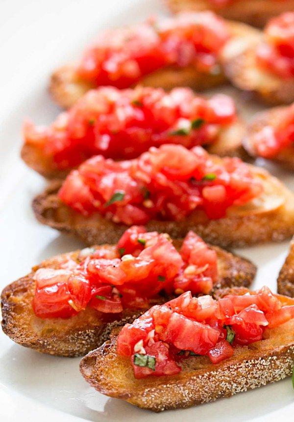 food,dish,cuisine,bruschetta,produce,
