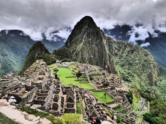 Machu Picchu, mountainous landforms, archaeological site, landmark, mountain,