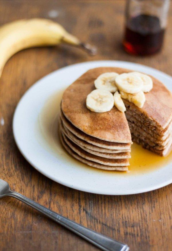 Naturally Sweetened Spelt Pancakes