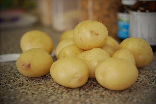 Potato Eye Treatment
