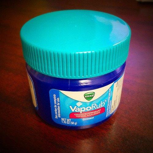 Vapo-Rub = Childhood Illness