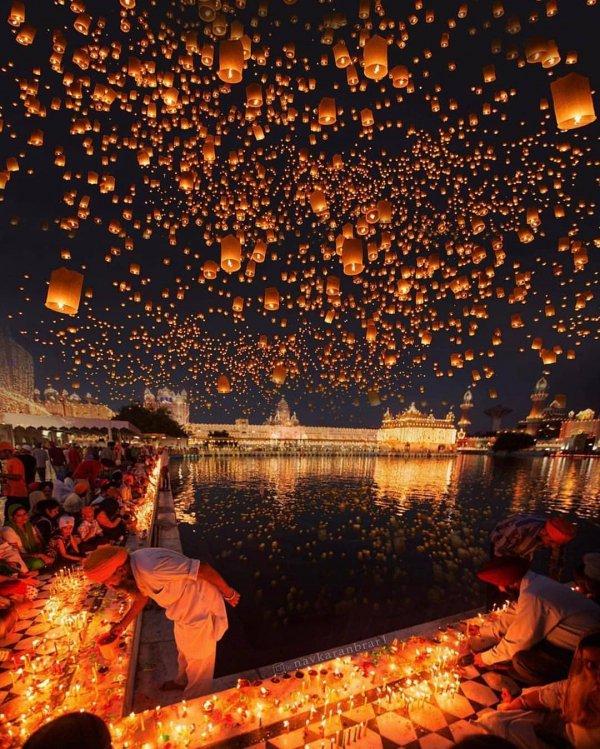 reflection, night, sky, lighting, fête,