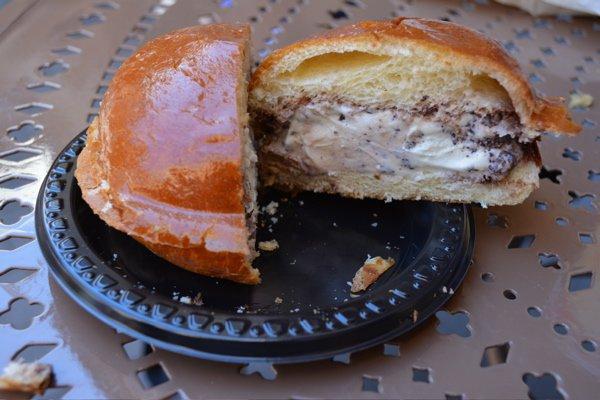 baked goods, food, dish, bun, dessert,