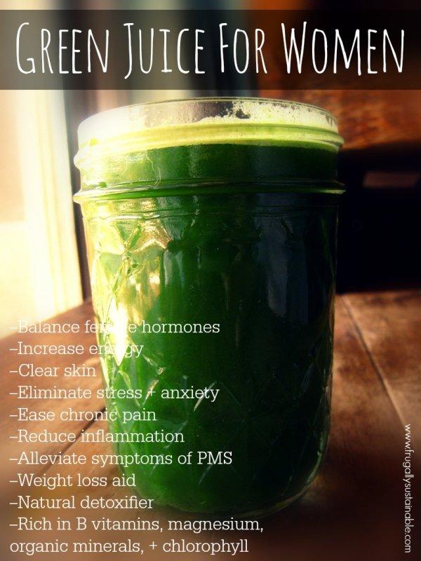 Green Juice for Women