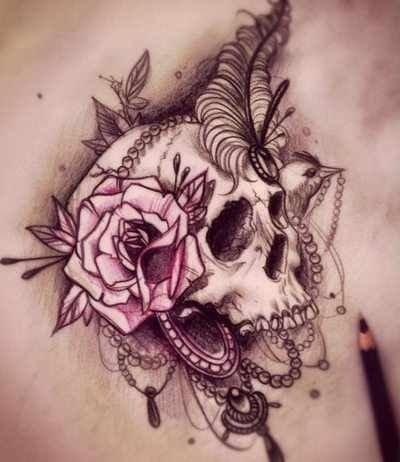 Edgy Skull
